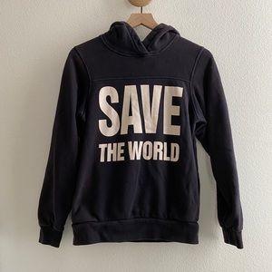 Katharine Hamnett Save The World Sweatshirt Hoodie